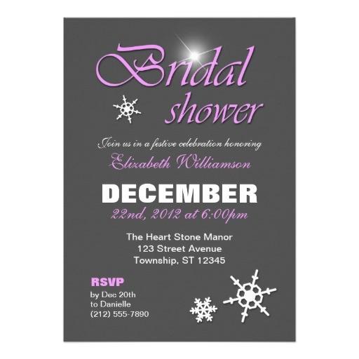 bridal shower invitations classy