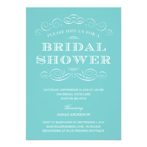 classy shower bridal shower invitation 161144458386834344