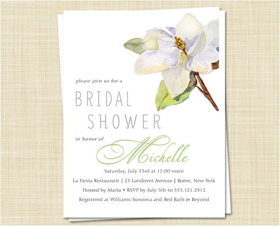 southern bridal showers