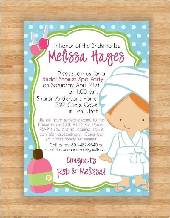 bridal shower invitation sparelaxation