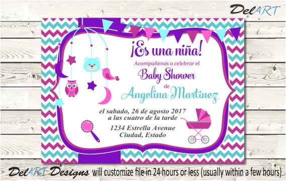 spanish baby shower invitation en ref=market