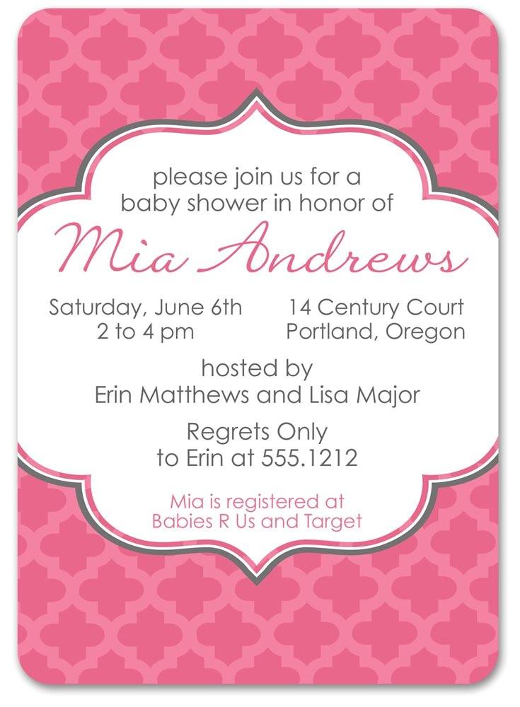 spanish baby shower invitations