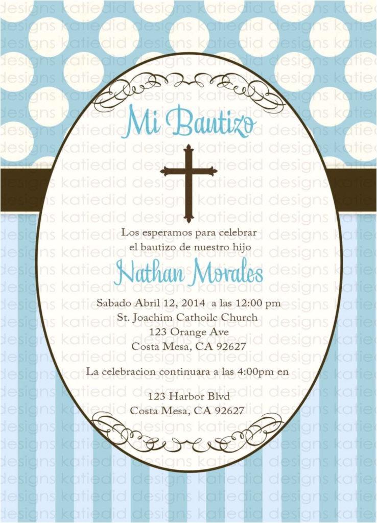 baptism invitation wording in spanish stephenanuno spanish birthday invitation wording
