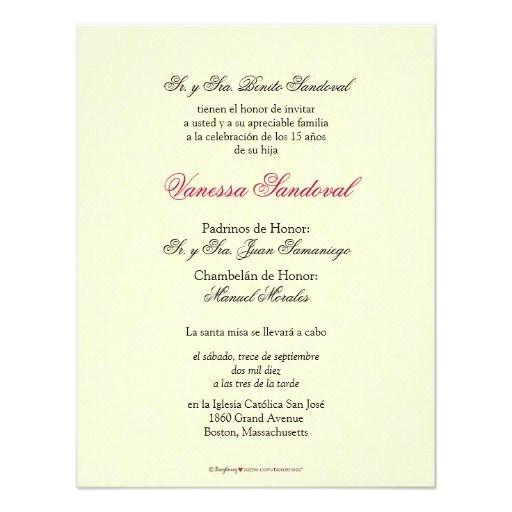 Spanish Wording for Quinceanera Invitations Spanish Yellow Damask Quinceanera Invitacion Card