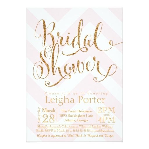 glitter bridal showers
