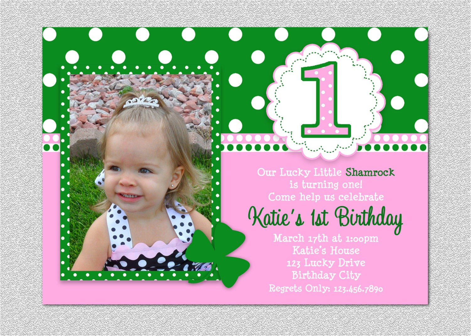 1st birtday party invitations st