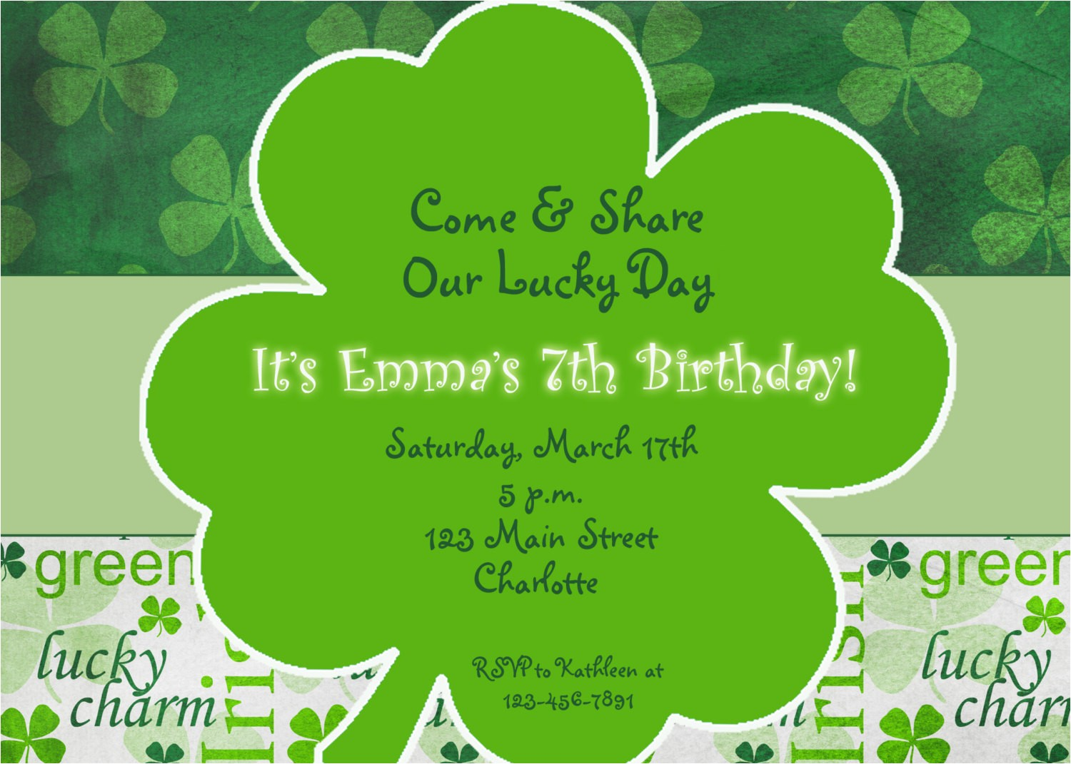 st patricks day party birthday
