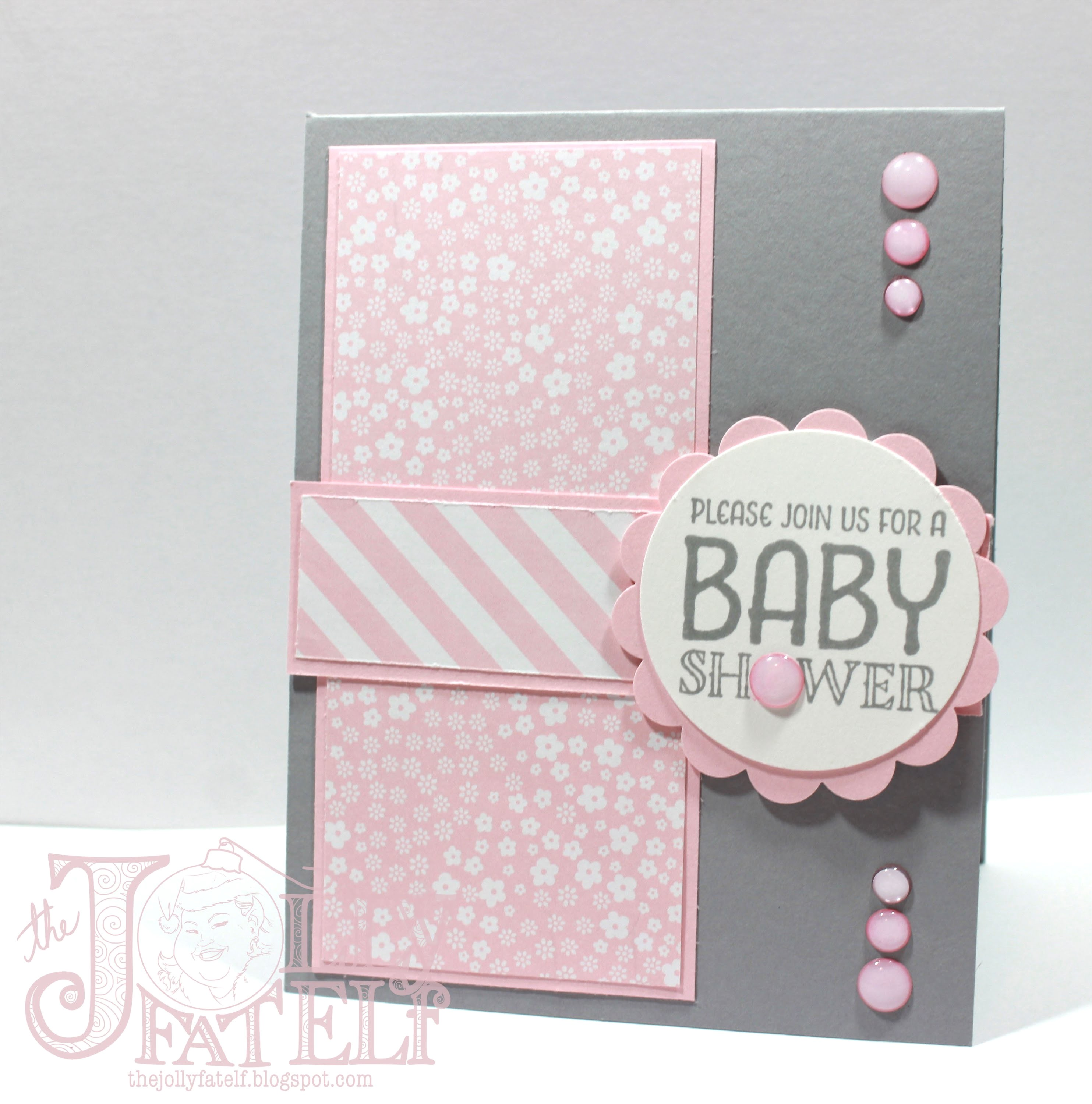 stampin up baby shower invitations
