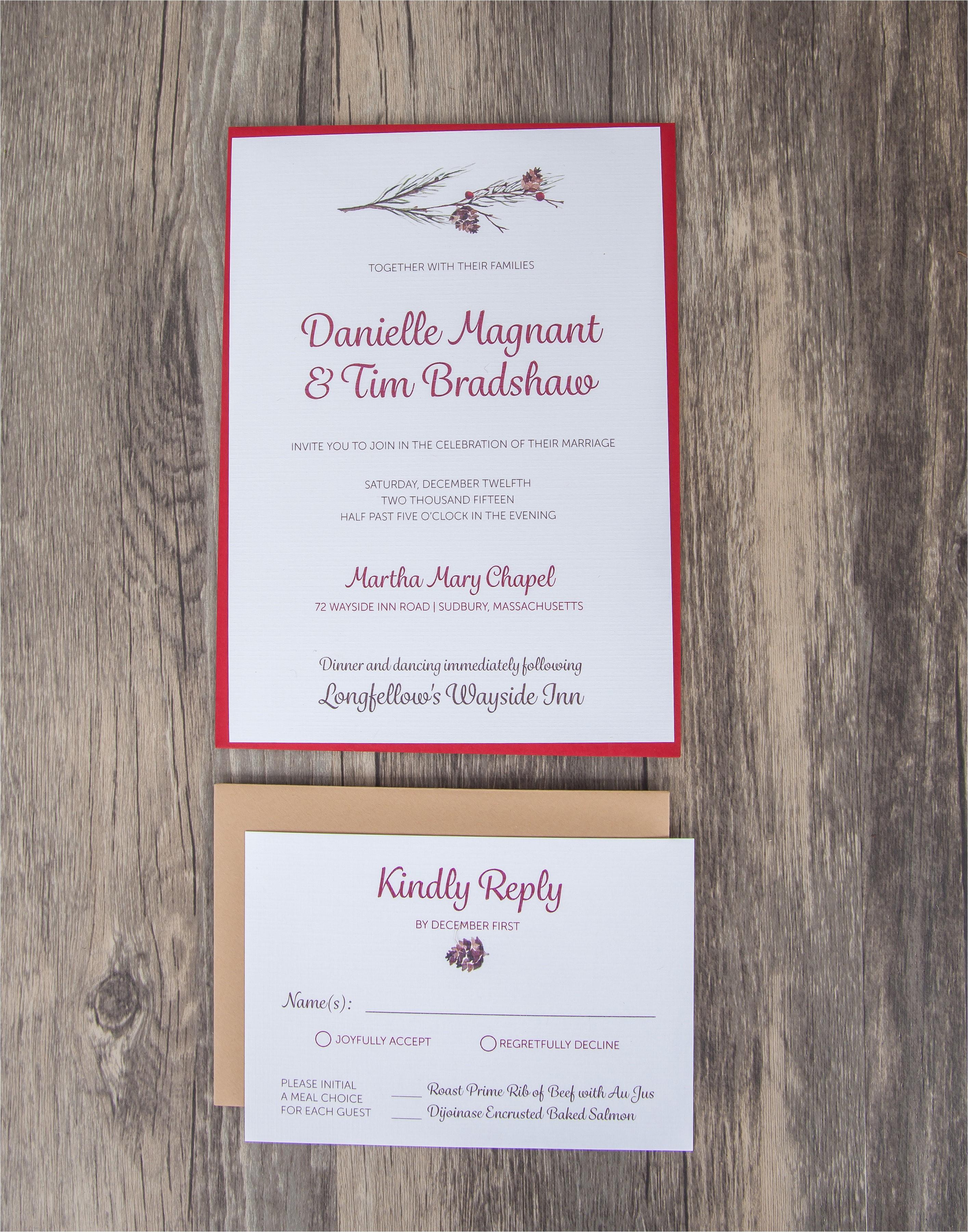 wedding invitation kits staples canada