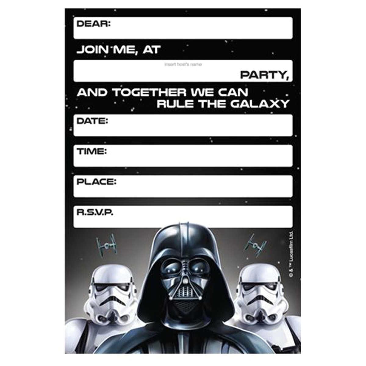 Star Wars Birthday Invitation Template Lego Star Wars Birthday Invitations Template Bagvania