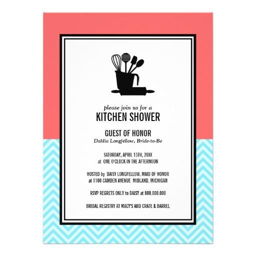 Stock the Kitchen Bridal Shower Invitations Stock the Kitchen Bridal Shower Invitations