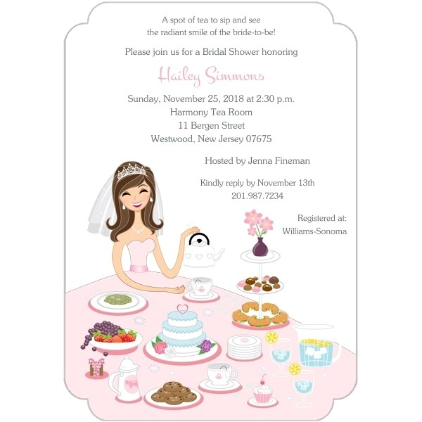 bridal shower invitations in store