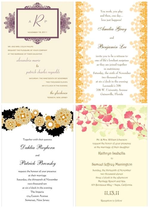 bridal shower invitations storkie