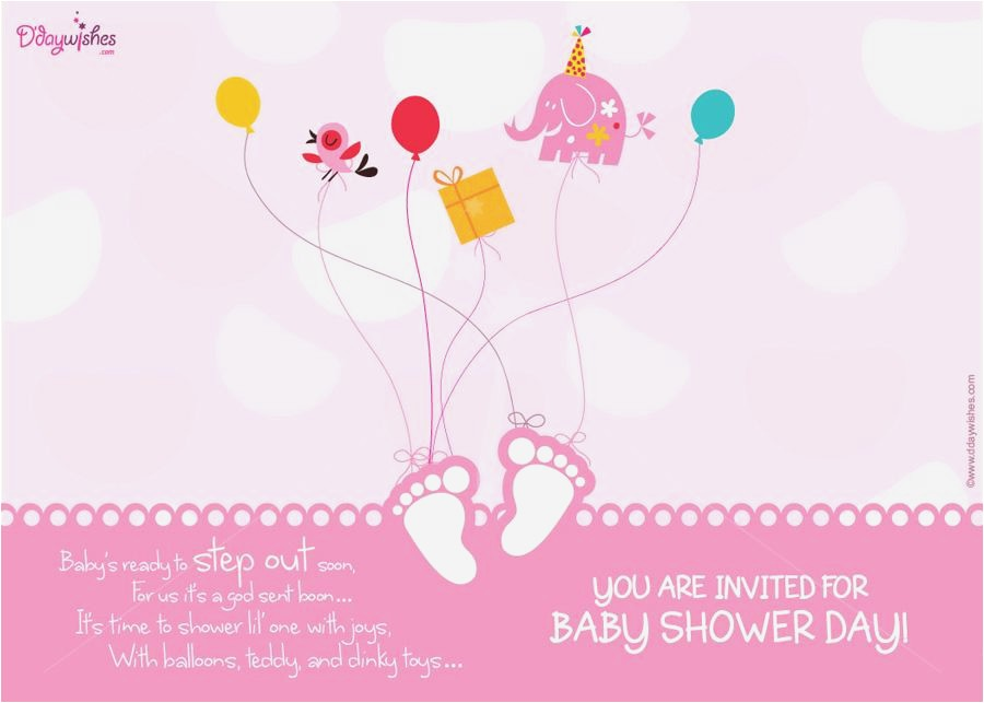 baby shower invitation in telugu