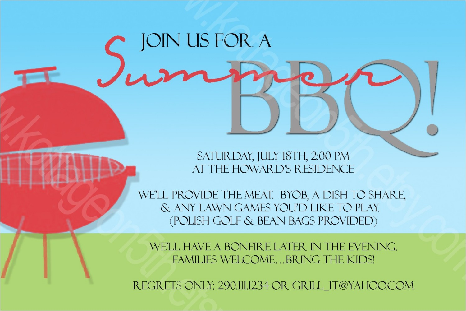 p summer bbq invitation word template 1682112