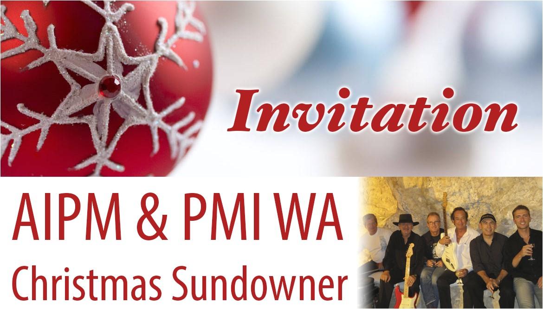 aipm pmi christmas sundowner invitation 10 dec 2014 cbd rydges registration