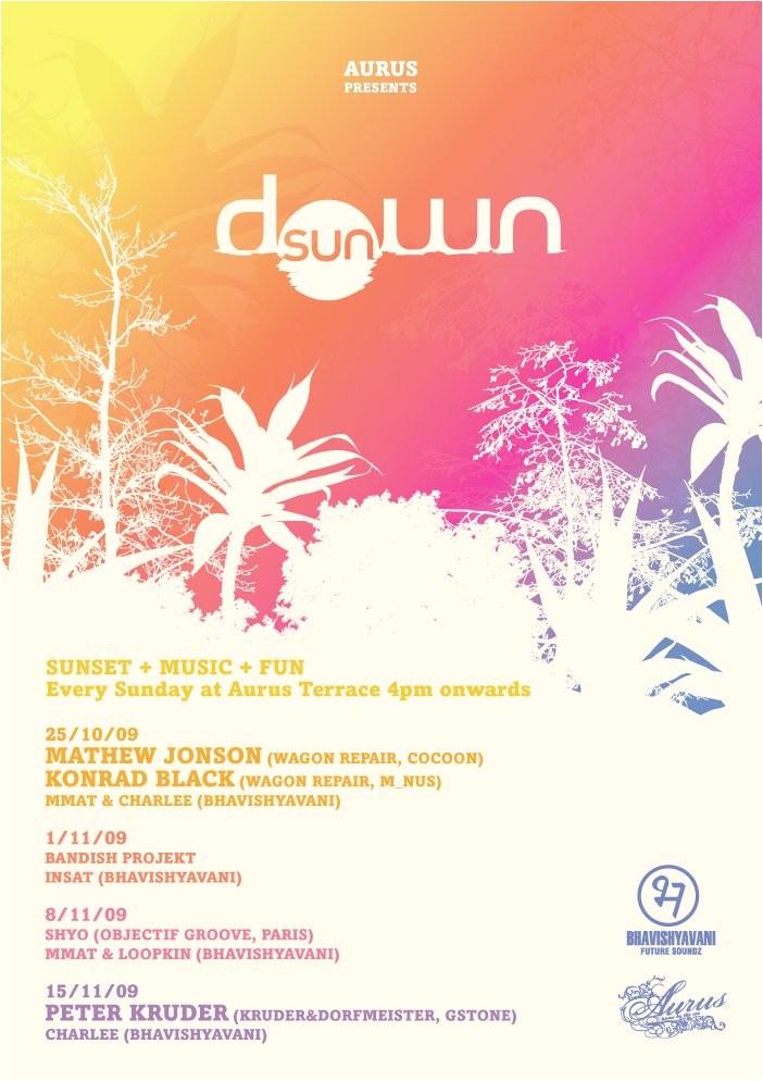 Sundowner Party Invite Ra Sundown Bandish Projekt at Aurus Juhu Mumbai 2009