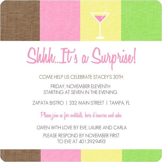 surprise 30th birthday invitations template