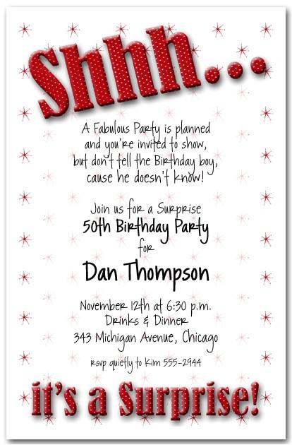 post surprise 50th birthday invitations printable