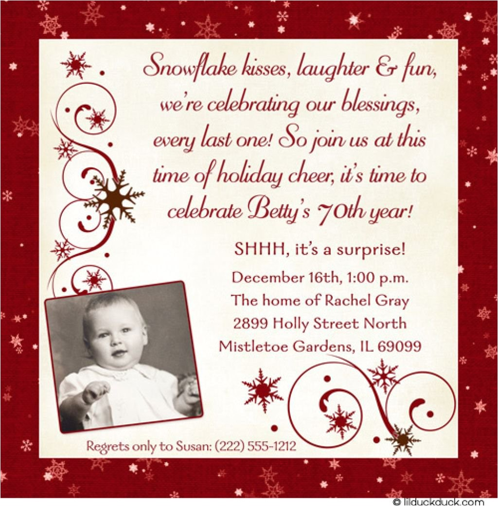 invitation wording for 70th birthday surprise party