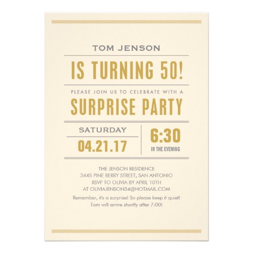 surprise party quotes