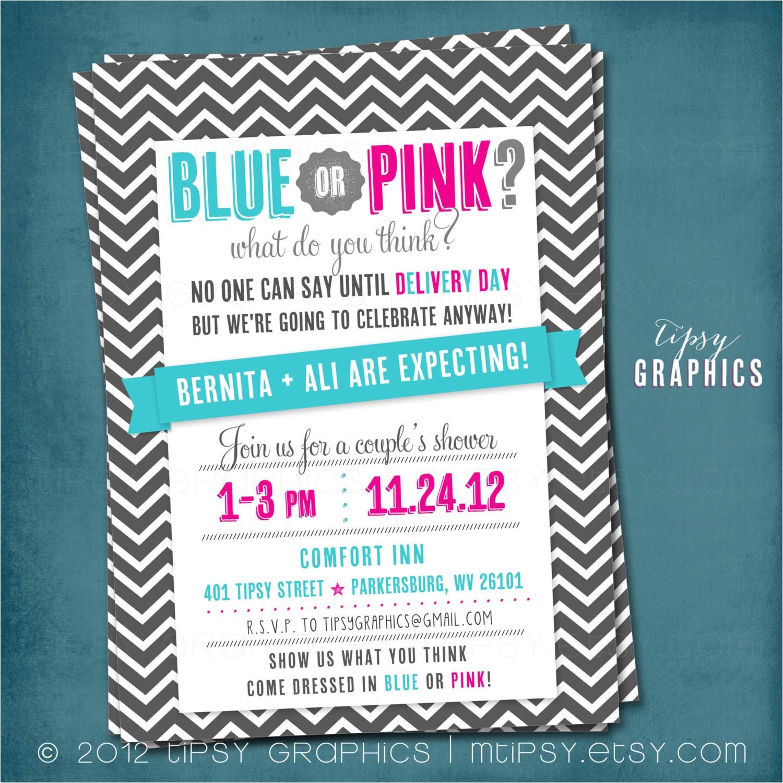 surprise baby shower invitations