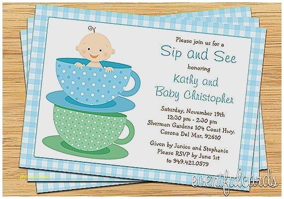 tar baby shower invites