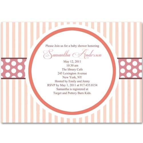 tar baby shower invitations simple design ideas