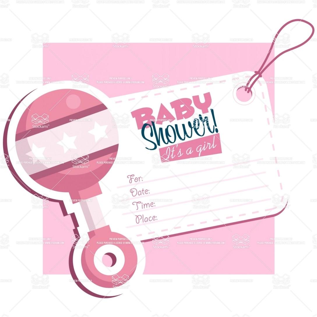 tar baby shower invitations templates