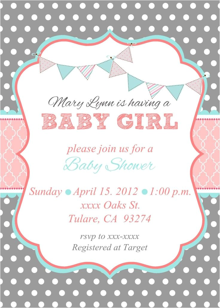 baby shower invitations tar