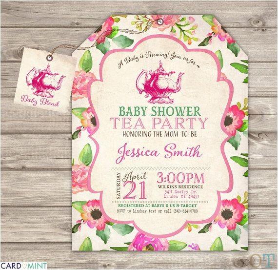 tea baby showers