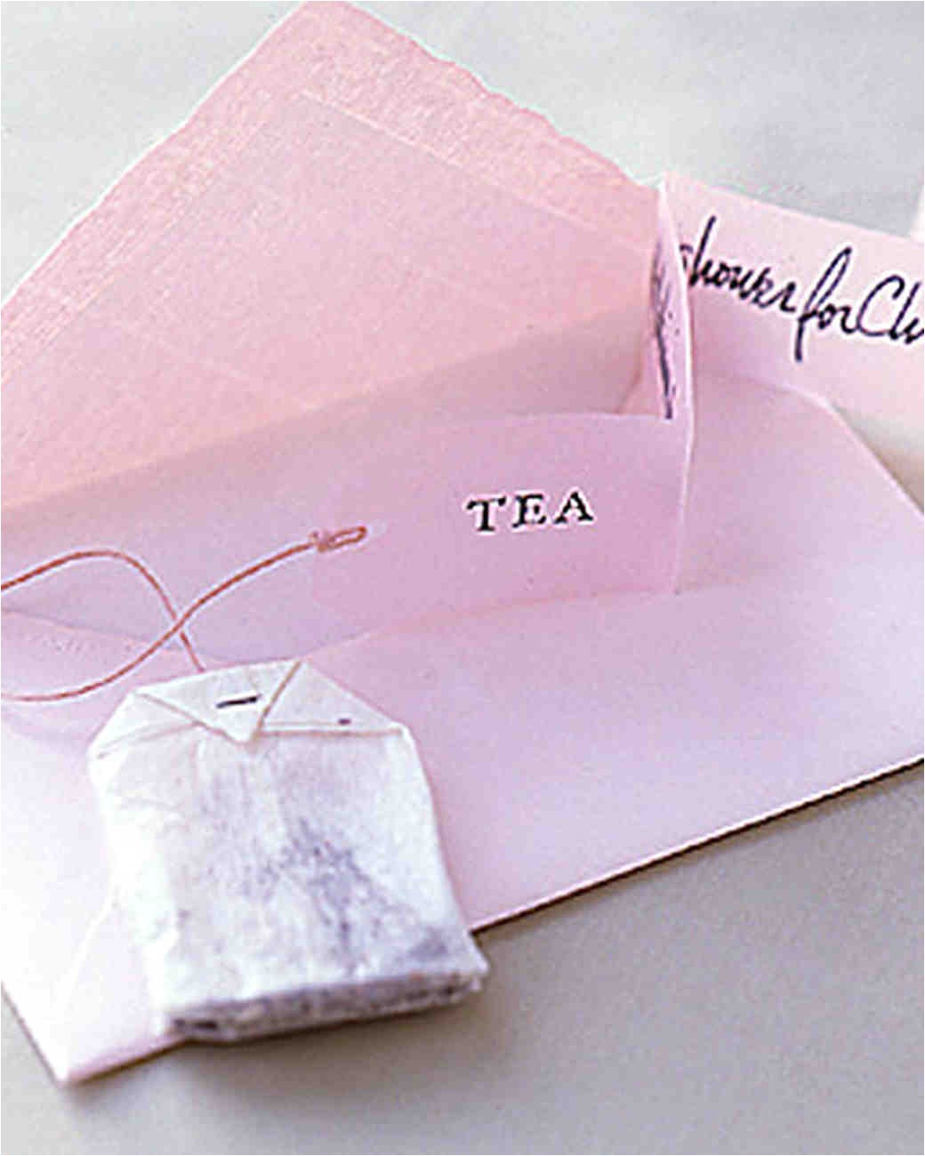 bridal shower tea party ideas