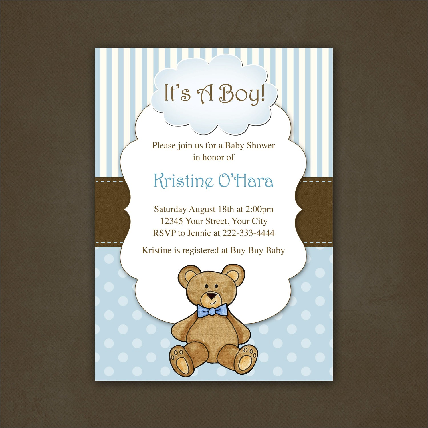 tips teddy bear baby shower invitations templates with graceful appearance of egreetingecards