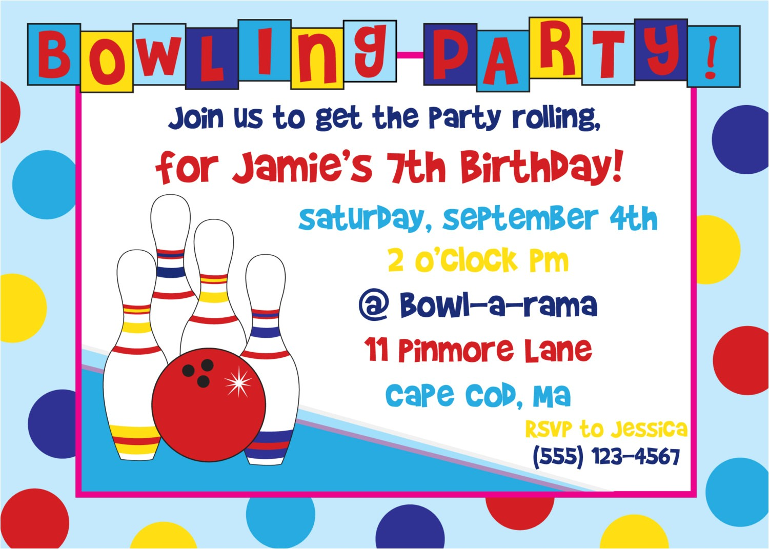 birthday party invitations free templates