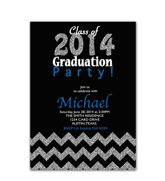 graduation party invitations 2015
