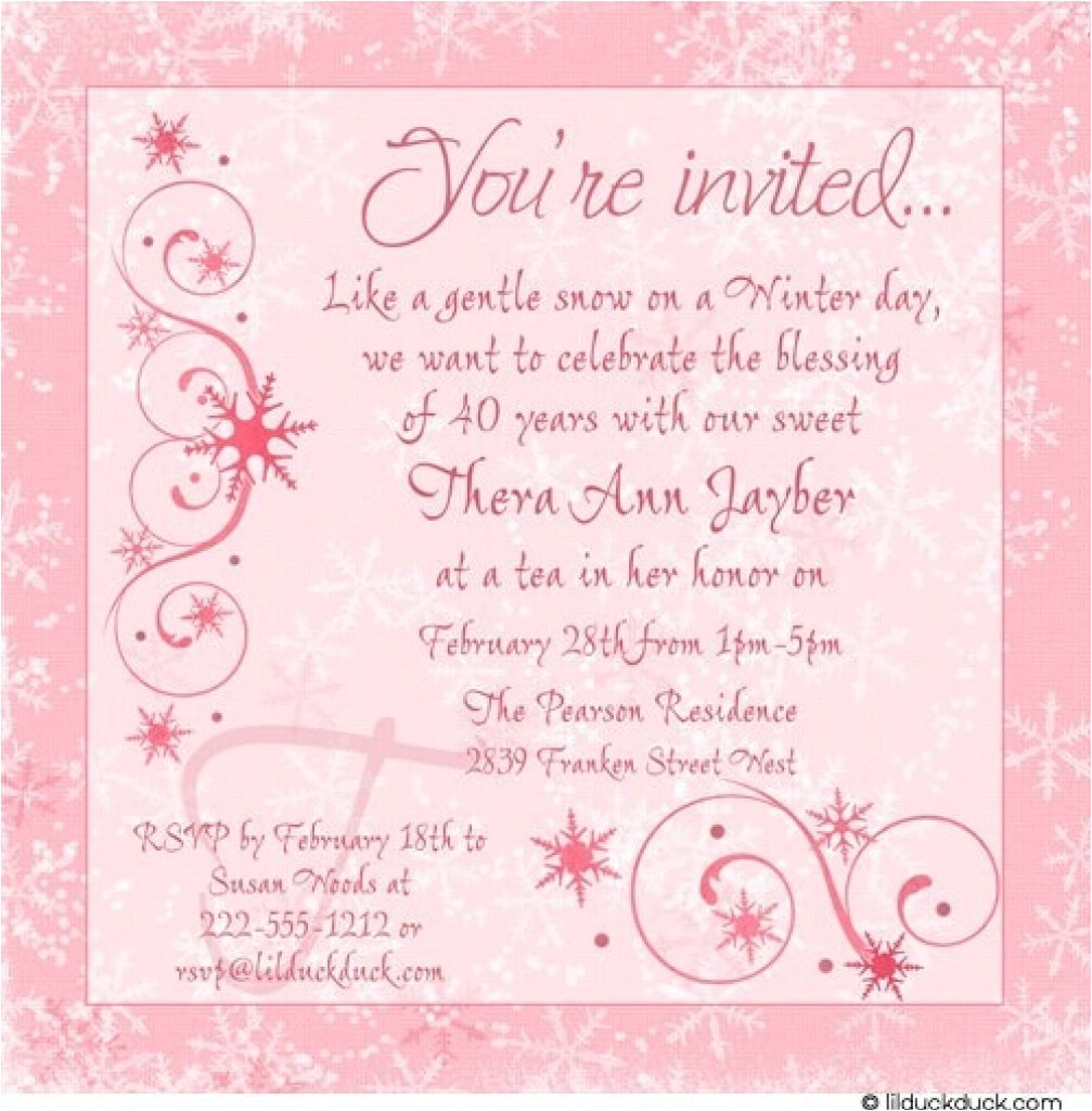 text for birthday invitation