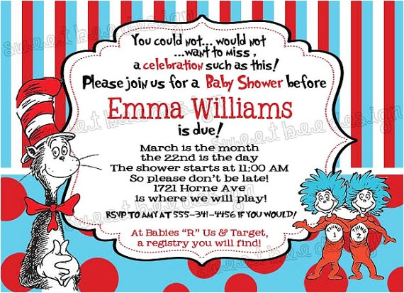 printable dr seuss baby shower invitations