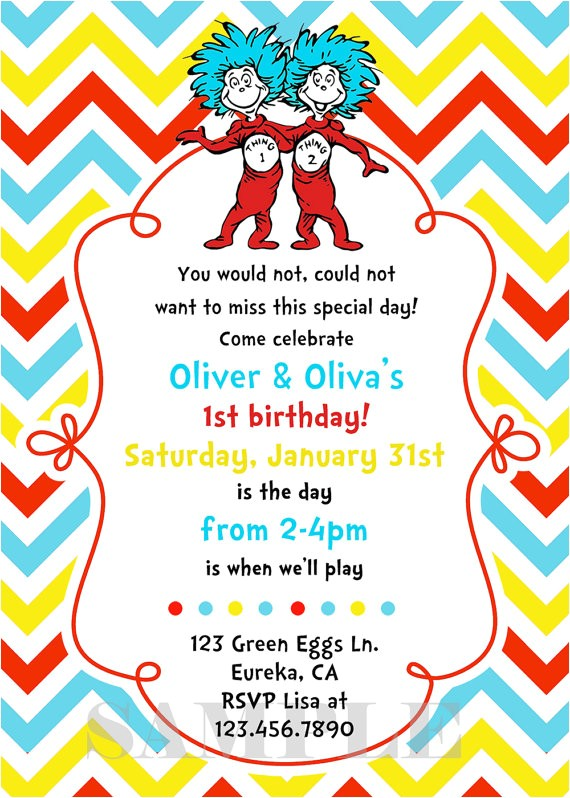 thing 1 and thing 2 birthday invitation ref br feed 27 br feed tlp home garden