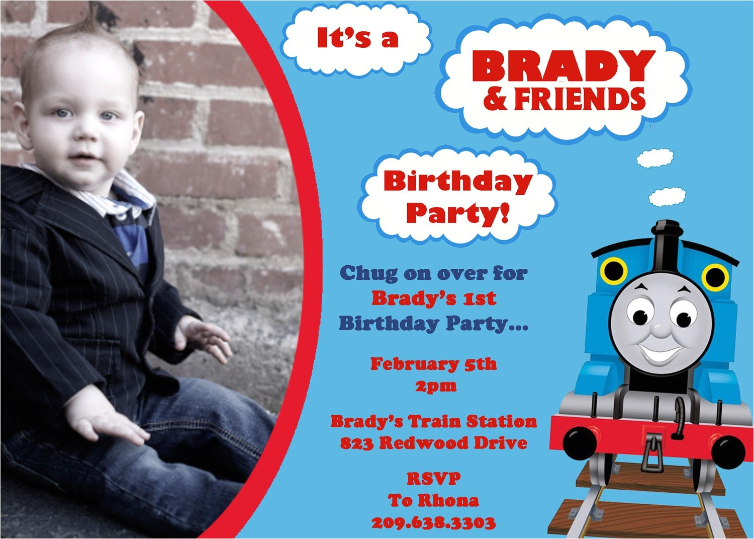 thomas the train and friends birthday