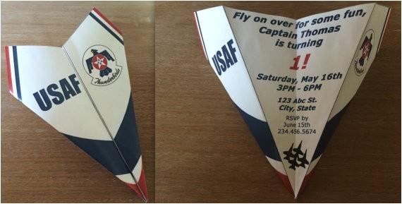 custom us air force thunderbirds paper