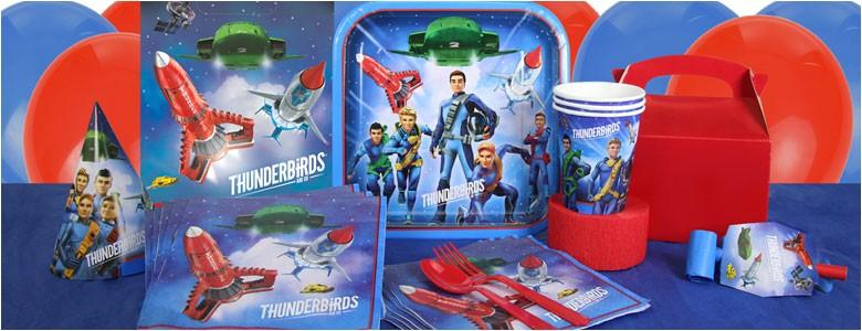thunderbirds party supplies
