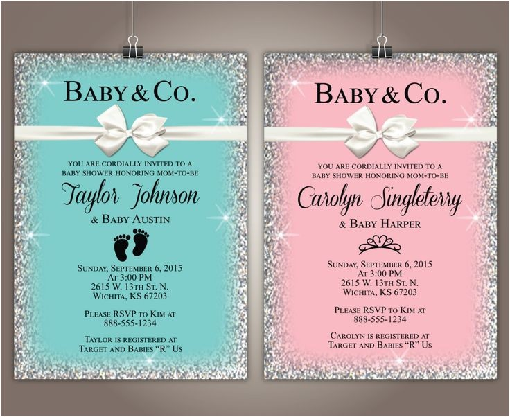 tiffany baby showers