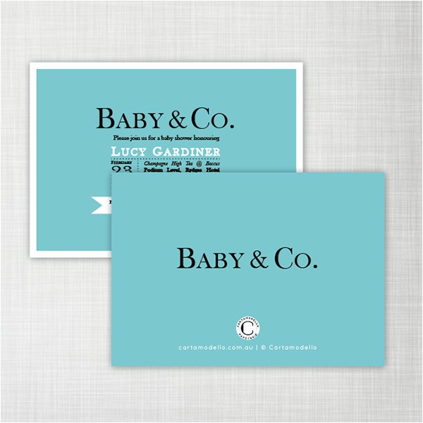 Baby Co Baby Shower Invitation