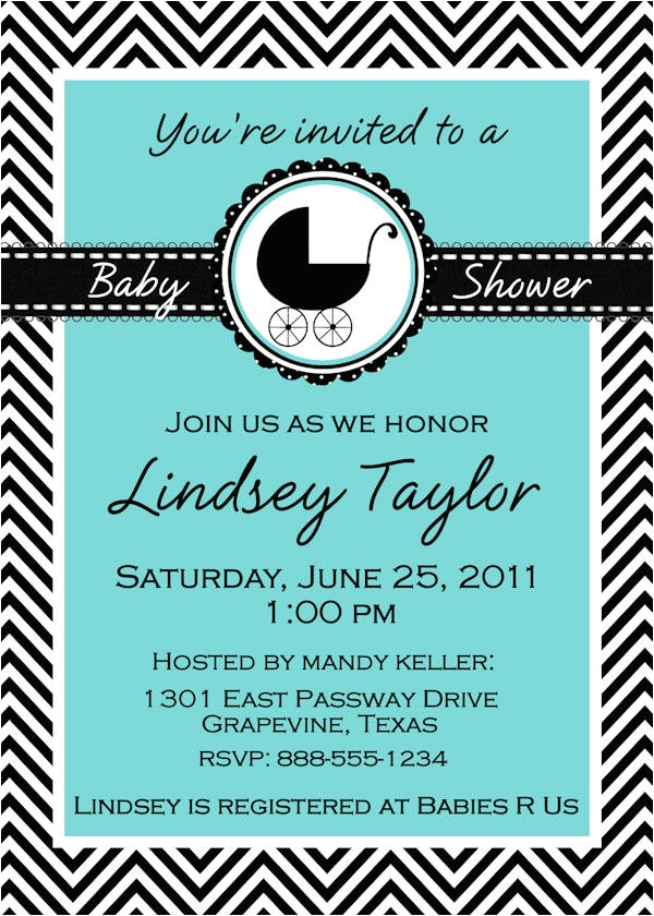 tiffany blue baby shower invitations template