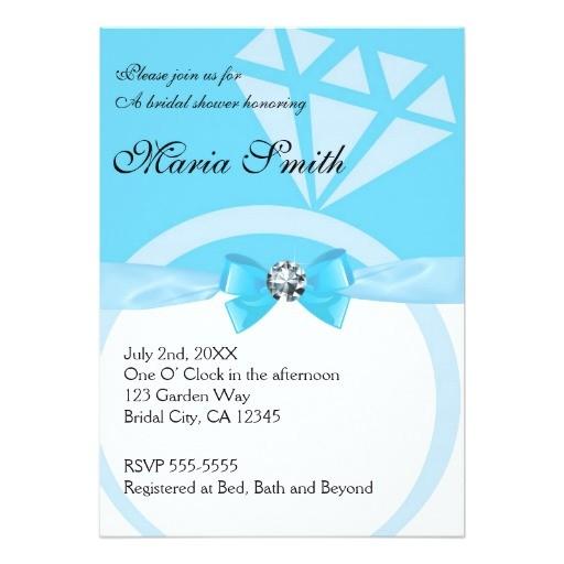 Tiffany Blue Wedding Bridal Shower Invitations Tiffany Blue Wedding Bridal Shower Invitations