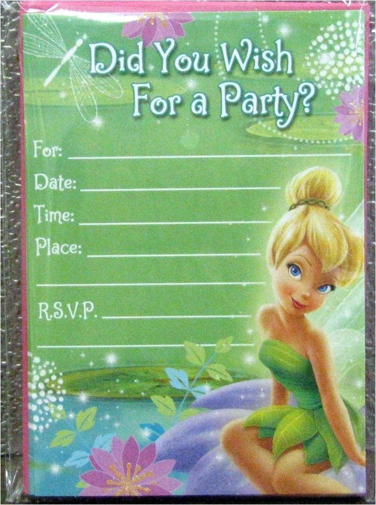 tinkerbell free invitation