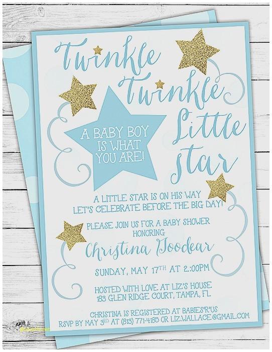 tiny prints baby shower invites