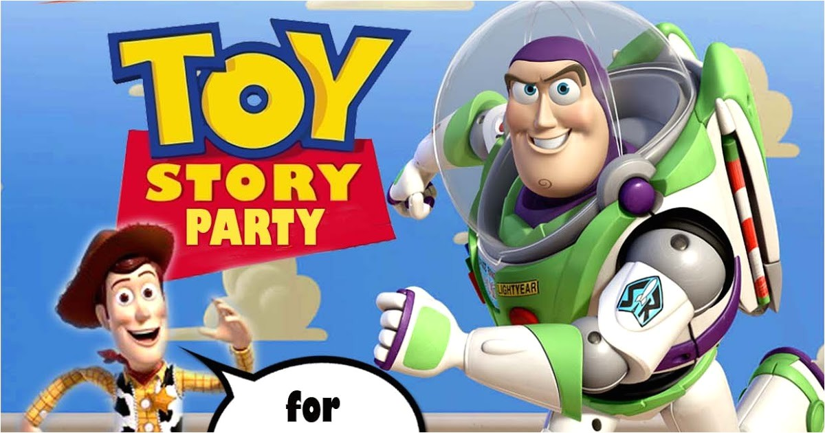 toy story birthday invitations templates free