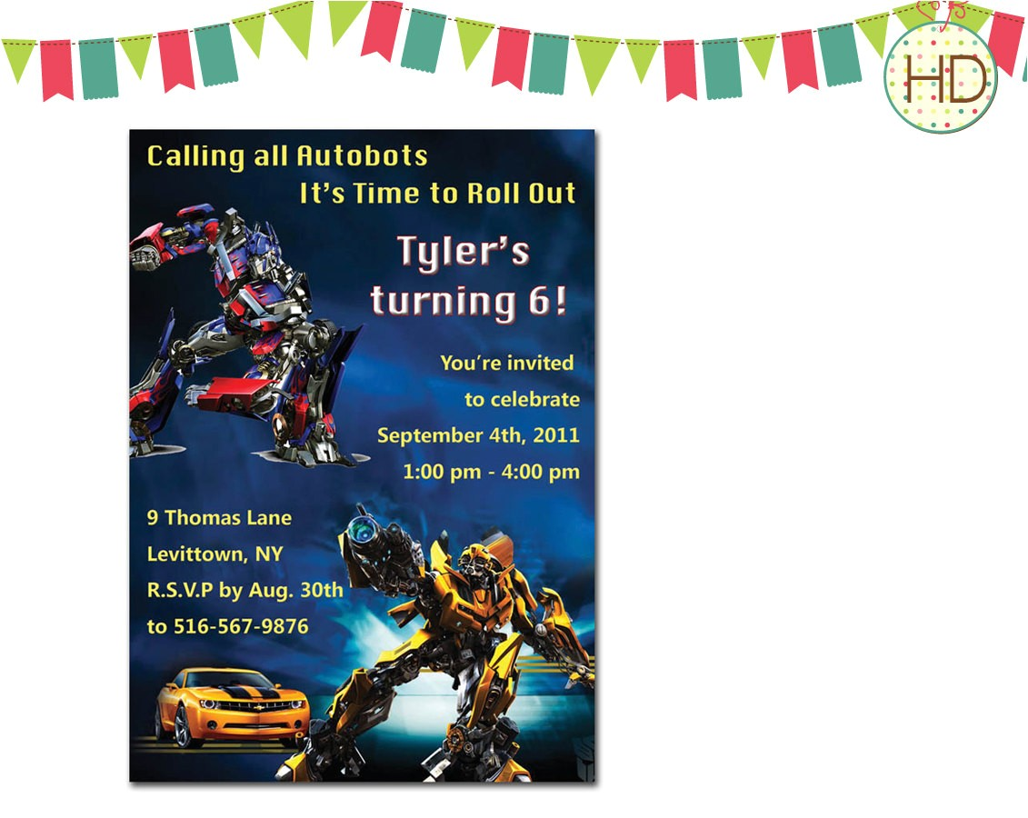 transformers invitation transformer ref=br feed 60&br feed tlp=home garden