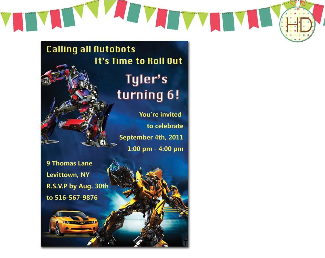 transformers invitation transformer ref=br feed 60&br feed tlp=home garden